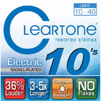 สายกีต้าร์ไฟฟ้า Cleartone, Treated, เบอร์ 10-46
