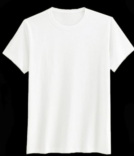 เสื้อยืดสีพื้นไม่มีสกรีน