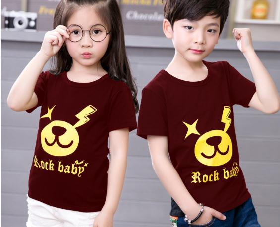 เสื้อเด็ก Cotton100% พร้อนสกรีนลายน่ารัก