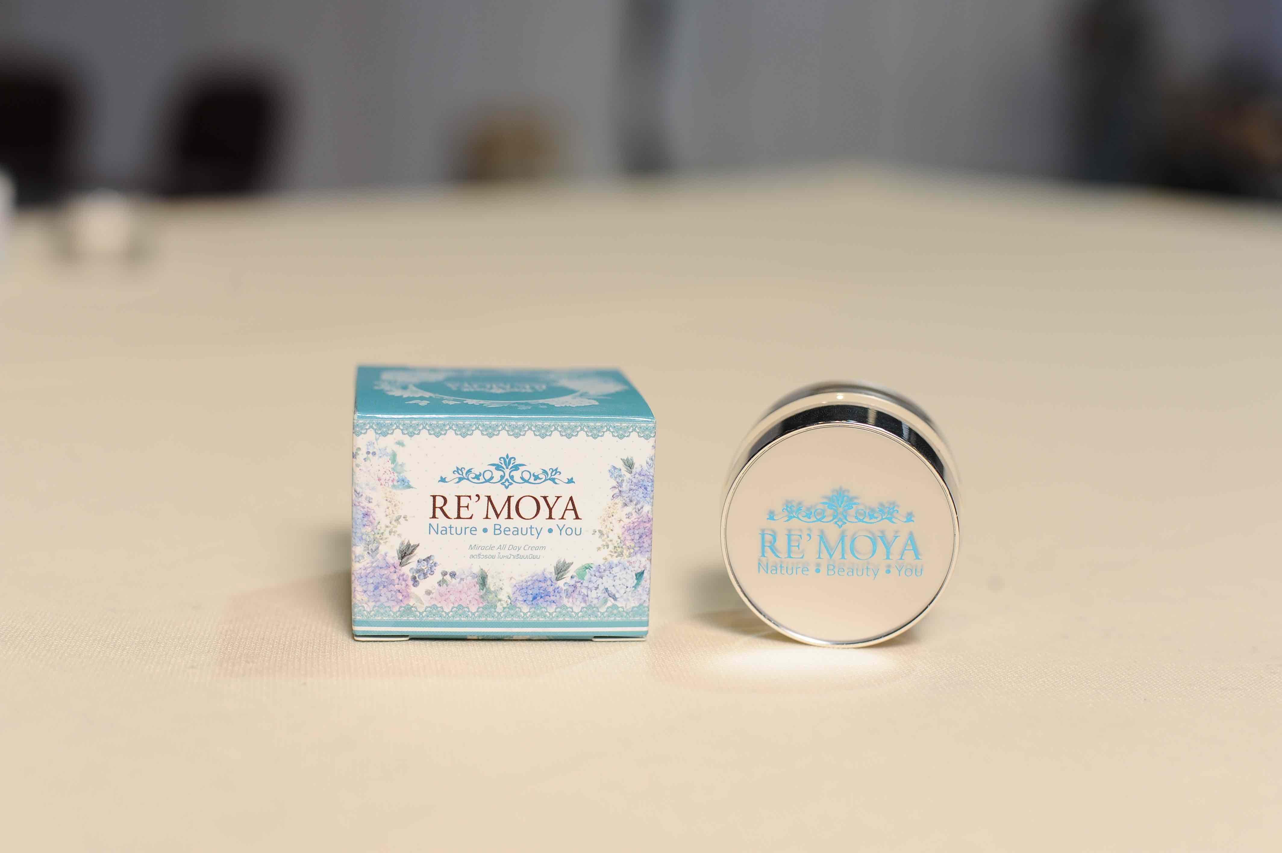 E00001 ผลิตภัณฑ์บำรุงผิวหน้ารีโมยา (Remoya) Miracle all day