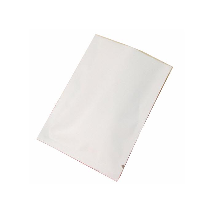 ถุงอะลูมีเนียมฟอยด์สีขาว ซีล3ด้าน ไม่ซิบ ขนาด7x10cm แพค50ใบ