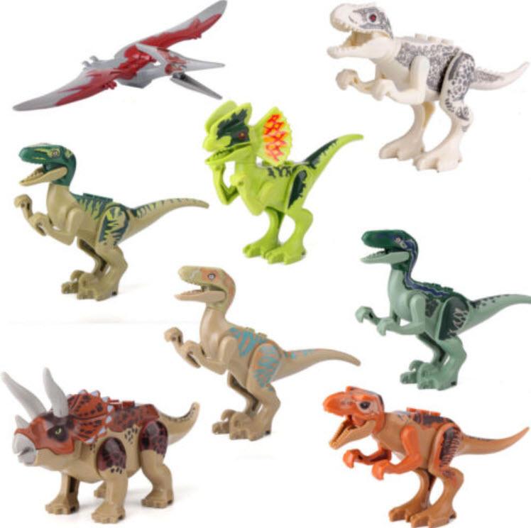 โมเดลไดโนเสาร์ ชุด 8 ตัว ขนาด 4 - 5 นิ้ว