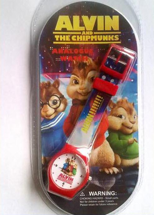 นาฬิกาข้อมือเด็ก Alvin