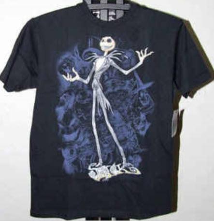 เสื้อยืดทีเชิร์ตไนท์แมร์ สีดำ (S)