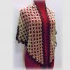 C04004 ผ้าคลุมไหล่แท็ตติ้ง Handmade Handmom