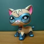 แมว Comic Mask Super Hero