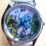 นาฬิกาข้อมือ Smurf (C) สายสีขาว