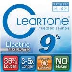 สายกีต้าร์ไฟฟ้า Cleartone, Treated, เบอร์ 9-42