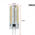 หลอด 104 LED ขนาด 6 วัตต์ (G4)