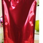 ถุงฟอยด์ ก้นตั้ง ติดซิบ ขนาด16x26cm สีน้ำแดง แพค50ใบ