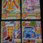 การ์ดไอคัทสึ ชุด Happy Sunny Color 4 ใบ (2015)