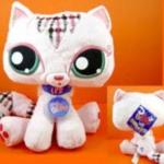 ตุ๊กตา LPS แมวสีชมพู ขนาด 9 นิ้ว (ของใหม่)