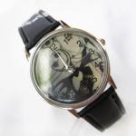 นาฬิกาไนท์แมร์ สายสีดำ