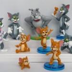 โมเดล Tom & Jerry ชุด 9 ตัว ขนาด 3 นิ้ว
