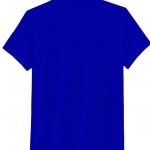 เสื้อยืดสีพื้น คอกลม สีน้ำเงิน