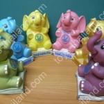 ออมสิน ชุดช้าง 6 ตัว