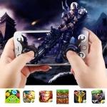 joystick จอยเกมส์มือถือ สีดำ