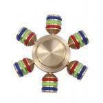 Fidget Spinner Gear 6 แฉก สีทอง
