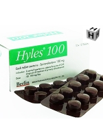 HYLES 100 mg. SPIRONOLACTONE 10x10 TABLETS 1 BOX