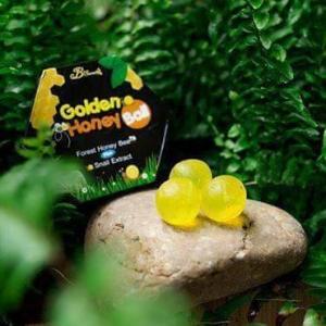 มาส์กลูกผึ้ง Golden Honey Ball