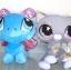 ตุ๊กตา LPS แพ็คคู่ แมวกับผีเสื้อ ขนาด 9 นิ้ว (ของใหม่) thumbnail 1