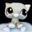 ตุ๊กตา LPS แมวสีเทา ขนาด 9 นิ้ว (ของใหม่) thumbnail 1