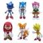 ฟิคเกอร์ Sonic ชุด 6 ตัว ขนาด 2.5 นิ้ว thumbnail 1