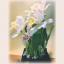 D00033 แคทลียาดอกไม้ประดิษฐ์