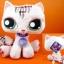 ตุ๊กตา LPS แมวสีชมพู ขนาด 9 นิ้ว (ของใหม่) thumbnail 1