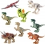 โมเดลไดโนเสาร์ ชุด 8 ตัว ขนาด 4 - 5 นิ้ว thumbnail 1