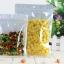 ถุงหน้าใส-หลังขาว ซีล3ด้าน ติดซิบ ขนาด20x30cm แพค50ใบ thumbnail 1