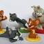 โมเดล Tom & Jerry ชุด 5 ตัว ขนาด 2.75 นิ้ว thumbnail 1