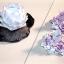 D00071 ผลิตภัณฑ์เซรามิกเชิงเทียนและดอกบัววางเทียนปักธูป