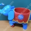 ชุดช้างรองแก้วสีฟ้า thumbnail 2