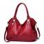 กระเป๋าสะพายหนัง สีแดง (high grade) thumbnail 1