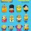 ฟิคเกอร์ Minions ครบชุด 12 ตัว (Mc USA) thumbnail 3