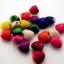 ลูกปัดหัวใจหิน คละสี 8 ม.ม. / 50 เม็ด thumbnail 1