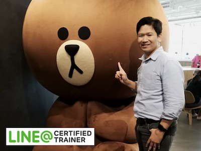 LINE@ Certified Trainer