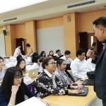 ภาพบรรยากาศ การบรรยายพิเศษให้กับนักศึกษาวิทยาลัยนานาชาติ มหาวิทยาลัยบูรพา