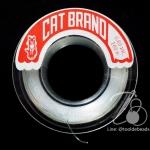 เอ็นตราแมว เบอร์0.60 สีใส (100 เมตร)