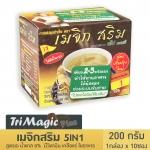 TriMagic Srim ทรีเมจิกสริม คอฟฟี่ ขนาด (200 กรัมx10 ซอง) กาแฟปรุงสำเร็จชนิดผง ผสมโสมสกัด วิตามิน เกลือแร่ และใยอาหาร