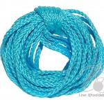 เชือกถัก 4มม. สีฟ้า (30 หลา)