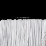 ยางยืด เส้นกลม 1.5มม. สีขาว (144 หลา)