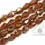 คริสตัลโมดาร์ 6*9มม. สีน้ำตาล (70 เม็ด)