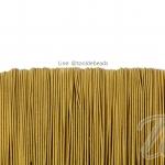 ยางยืด เส้นกลม 1.5มม. สีทอง (144 หลา)
