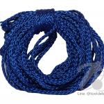 เชือกถัก 4มม. สีน้ำเงิน (10 หลา)