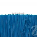 ยางยืด เส้นกลม 1.5มม. สีฟ้าเข้ม (144 หลา)