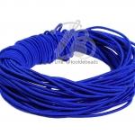 ยางยืด เส้นกลม 1.5มม. สีน้ำเงิน (10 หลา)