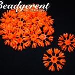 ดอกมะลิบาน ไซส์เล็ก 35มม. สีส้ม (100 กรัม)