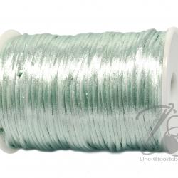 เชือกหางหนู 2มม. สีเขียวมิ้นท์ (100 หลา)